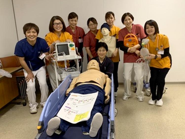 第1回沖永良部島クジラICLSコースを開催(沖永良部徳洲会病院)