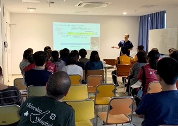 栄養投与経路の考え方を学ぶ勉強会を開催しました。(沖永良部徳洲会病院)
